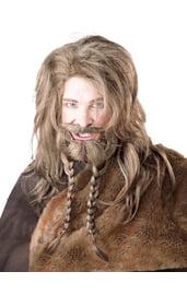 Парик и борода викинга