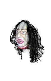 Подвесная голова с черными волосами