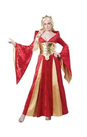 Костюм королевы Средневековья