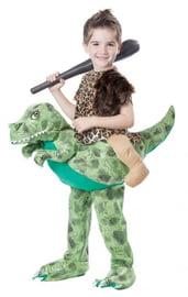 Детский костюм наездника на динозавре