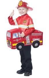 Детский костюм пожарной машины