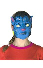 Латексная маска Аватар
