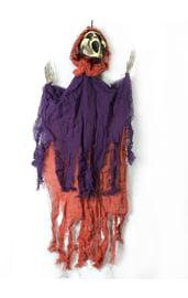 Подвесная декорация Крик фиолетово-оранжевый
