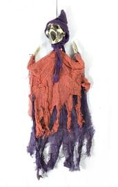 Подвесная декорация Крик оранжево-фиолетовый