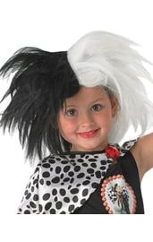 Детский парик Круэллы