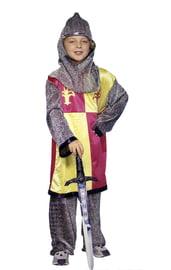 Детский костюм Рыцаря серебряный