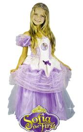 Лиловый костюм принцессы Софии