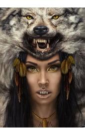 Линзы Yellow Wolf