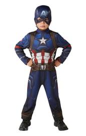 Детский классический костюм Капитана Америка