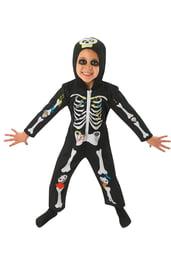 Детский комбинезон Скелетона