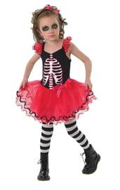 Детское платье Скелетон