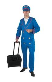 Синий костюм пилота