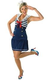 Милый костюм морячки
