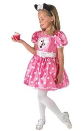 Платье Минни Маус розового цвета