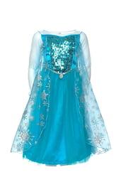 Платье Эльзы Фроузен с блестками