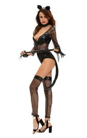 Черный костюм полуночной кошечки