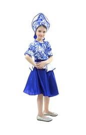 Подростковый костюм Гжельский сувенир