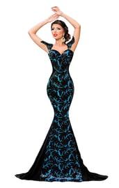 Элегантное платье русалочка