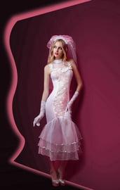 Ажурный костюм невесты