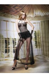 Кружевной комплект с ночным платьем
