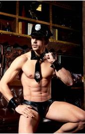 Эротический комплект полицейского