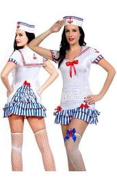 Белый костюм морячки милашки
