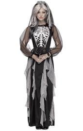 Костюм невесты скелетона