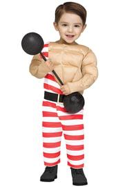 Костюм мускулистого малыша
