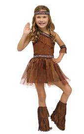 Детский костюм индейской девочки