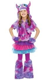 Плюшевый детский костюм монстрика