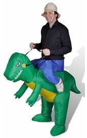 Надувной костюм На динозавре