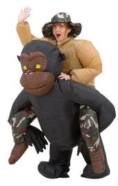 Надувной костюм На горилле
