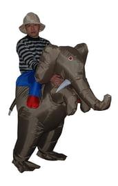 Надувной костюм На слоне