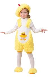 Меховой костюм цыпленка