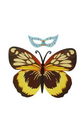 Детский набор Бабочка коричневая