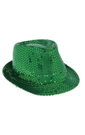 Зеленая световая шляпа