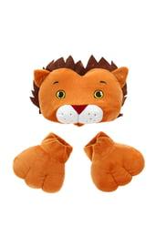 Плюшевый набор Лев