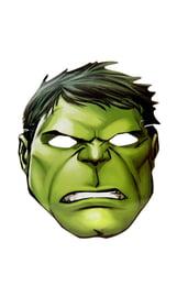 Картонная маска Халка