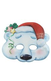 Маска Белый медведь