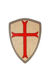 Деревянный щит Крест Тамплиера