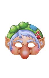 Картонная маска Баба Яга