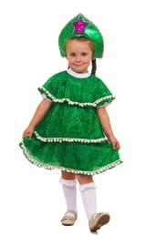 Детский костюм Новогодней елочки