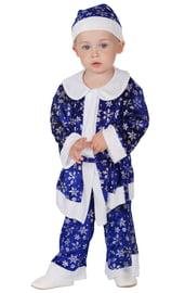Синий костюм Санты-малыша
