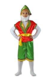 Красно-зеленый костюм гномика