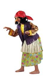 Цветочный костюм Бабы Яги