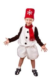 Костюм Снеговичка для детей