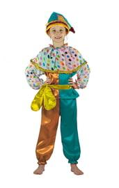 Разноцветный костюм Петрушки
