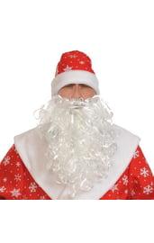 Борода Деда Мороза 30 см