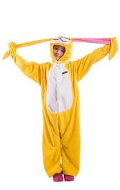 Детская пижама-кигуруми желтый заяц