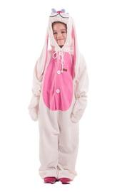 Детская пижама-кигуруми Белый заяц